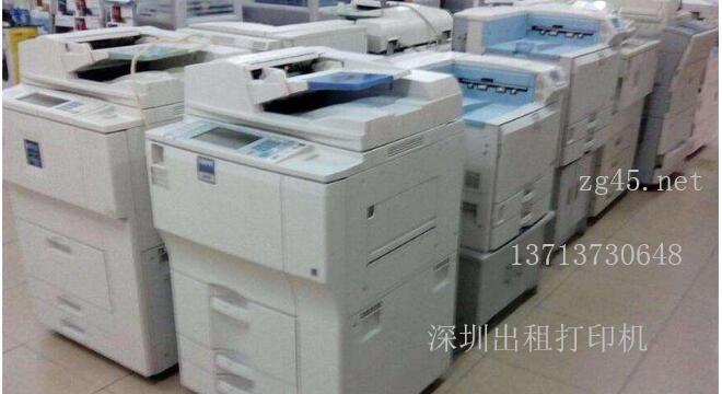 深圳龙华区民治出租彩色复印机租赁服务公司